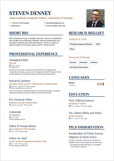 Papers essays and reviews yonsei professional resume writing